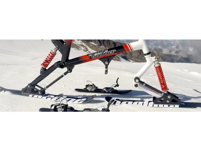 Sledgehammer Vorschlaghammer skibob Racer II