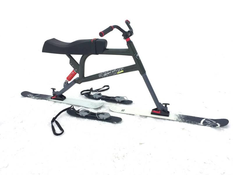 Sledgehammer Racer LIGHT - alternatif Brenter Snowbike Skibike