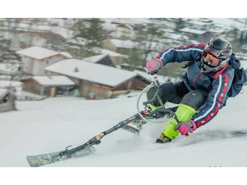 Sledgehammer Racer LIGHT - alternatif Brenter Snowbike Skibike