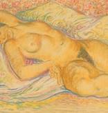 Henricus Schoonbrood, liggend naakt