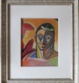 Remko Watjer, portret van een Afrikaanse vrouw