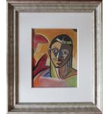 Remko Watjer, portrait of an African woman