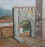 Christiaan de Moor, Italian village