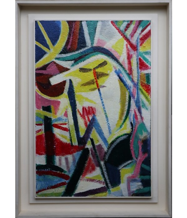 Klaas Boonstra, abstract composition