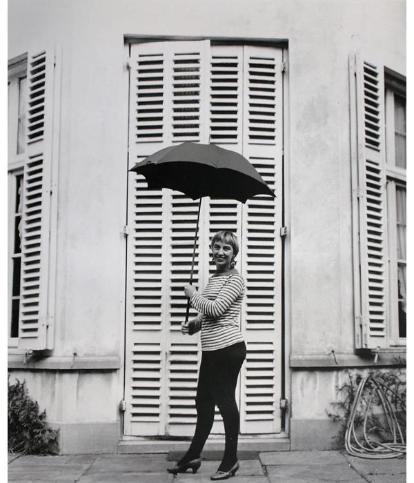 Prachtige, grote foto van Lotti van der Gaag, gefotografeerd door Marianne Domisse