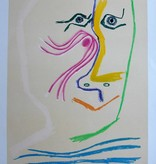 Pablo Picasso, lithography by Henri Deschamps 1969