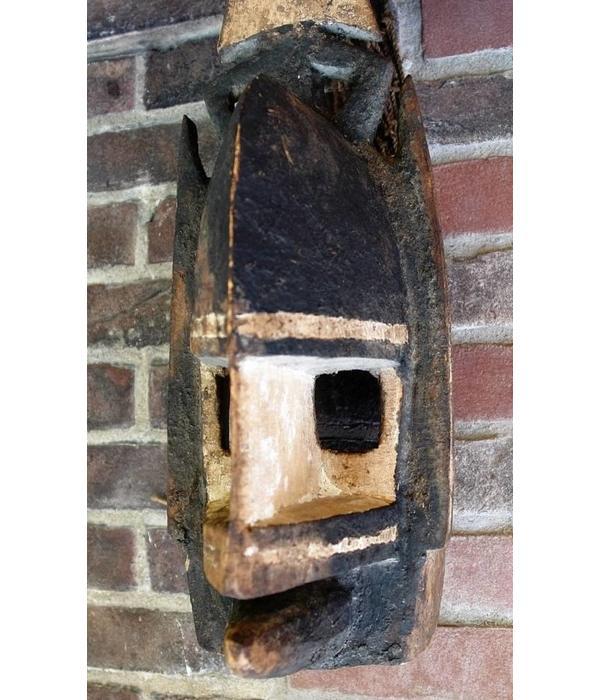 Tribal masker, 'Kanaga' stam. Dogon, Mali 19e/20e eeuw