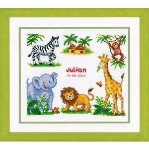Vervaco Borduurpakket Safari
