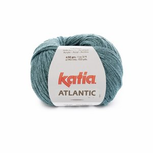 Katia Atlantic 205 Turquoise-zwart