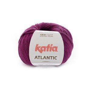 Katia Atlantic 202 Donkerfuchsia-zwart