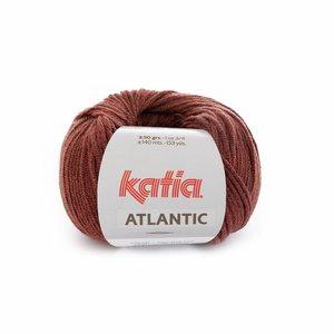 Katia Atlantic 200 Roestbruin-zwart