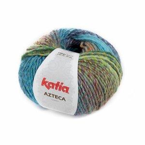 Katia Azteca groen-blauw-rood-fuchsia (7842)