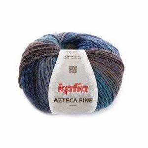 Katia Azteca Fine blauw (210)
