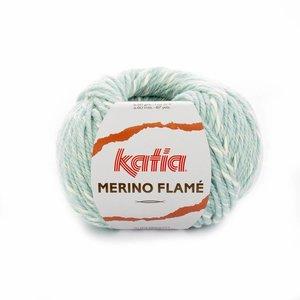 Katia Merino Flame Waterblauw/Ecru (105)