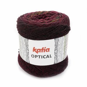 Katia Optical Zwart/Bordeauxpaars/Geel/Groen (504)