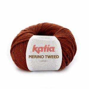 Katia Merino Tweed roestbruin (404)