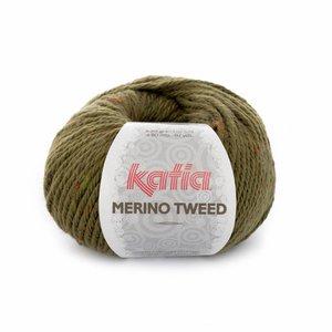 Katia Merino Tweed groen (402)