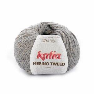 Katia Merino Tweed licht grijs (307)