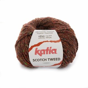 Katia Scotch Tweed Roestbruin (73)