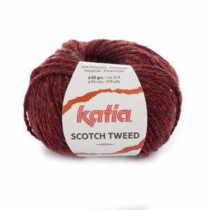 Katia Scotch Tweed Bordeauxpaars (74)