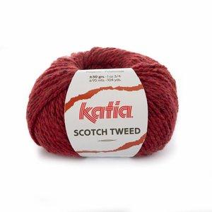 Katia Scotch Tweed Wijnrood (75)
