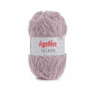 Katia Velour Licht medium paars (65)