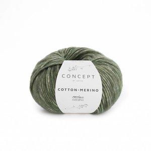 Katia Cotton-Merino bleekgroen (122)
