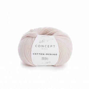 Katia Cotton-Merino zeer licht bleekrood (103)