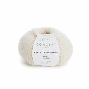 Katia Cotton-Merino ecru (100)