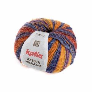 Katia Azteca Milrayas Oranje/Donkerblauw/Nachtblauw (708)