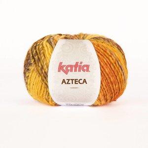 Katia Azteca geel-lila-oranje (7850) op = op