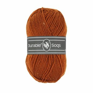 Durable Soqs Bombay brown (417)