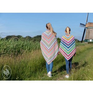 Durable Breipakket: Pretty Colours omslagdoek