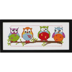 Permin Borduurpakket Owls