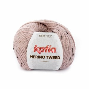 Katia Merino Tweed 312 - Lichtroze