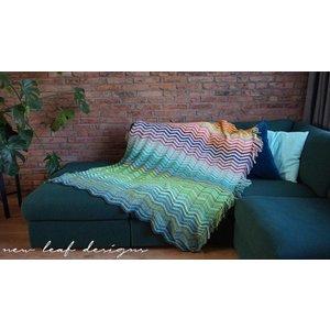 Scheepjes Garenpakket: Chevrainbow Blanket - New Leaf