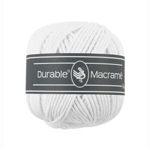 Durable Macramé White (310)