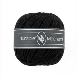 Durable Macramé 325 - Black