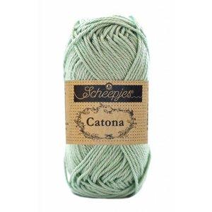 Scheepjes Catona 10 gram Silver Green (402)