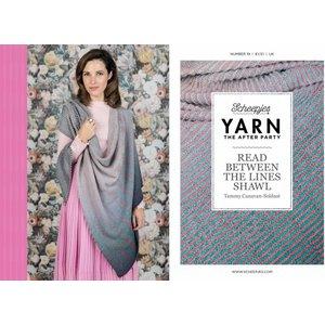 Scheepjes Yarn afterparty 19 Read between the lines shawl RBTL