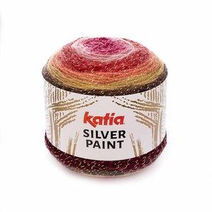 Katia Silver Paint Bleekrood/Rood/Camel/Wijnrood (102)