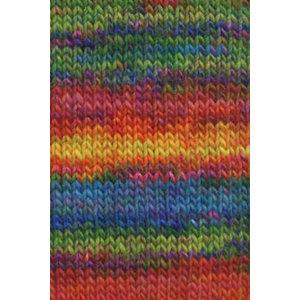 Lang Yarns Mille Colori Big Groen/oranje/rood/geel (53)