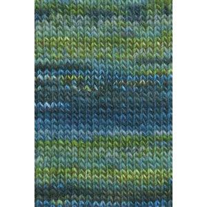 Lang Yarns Mille Colori Big Blauw/groen (35)