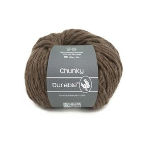 Durable Chunky Dark Brown (2230)