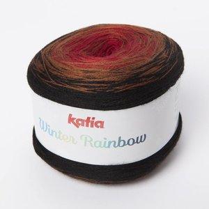 Katia Winter Rainbow Rood-Bruin (105) op=op