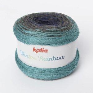 Katia Winter Rainbow Jeans-Turquoise (101) op=op