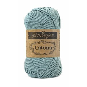 Scheepjes Catona 50 Silver Blue (528)