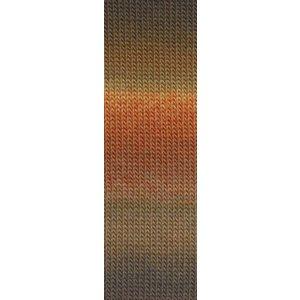 Lang Yarns Mille Colori Socks & Lace oranje/bruin (39)