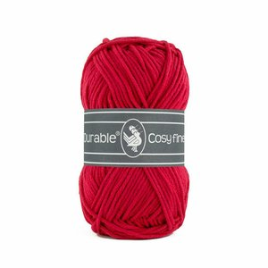 Durable Cosy Fine 317 - Deep Red
