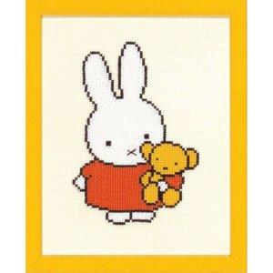 Pako Borduurpakket Nijntje met knuffel
